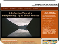 South America Backpacking Travelogue