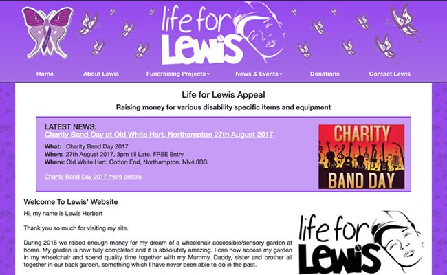 Life For Lewis Appeal